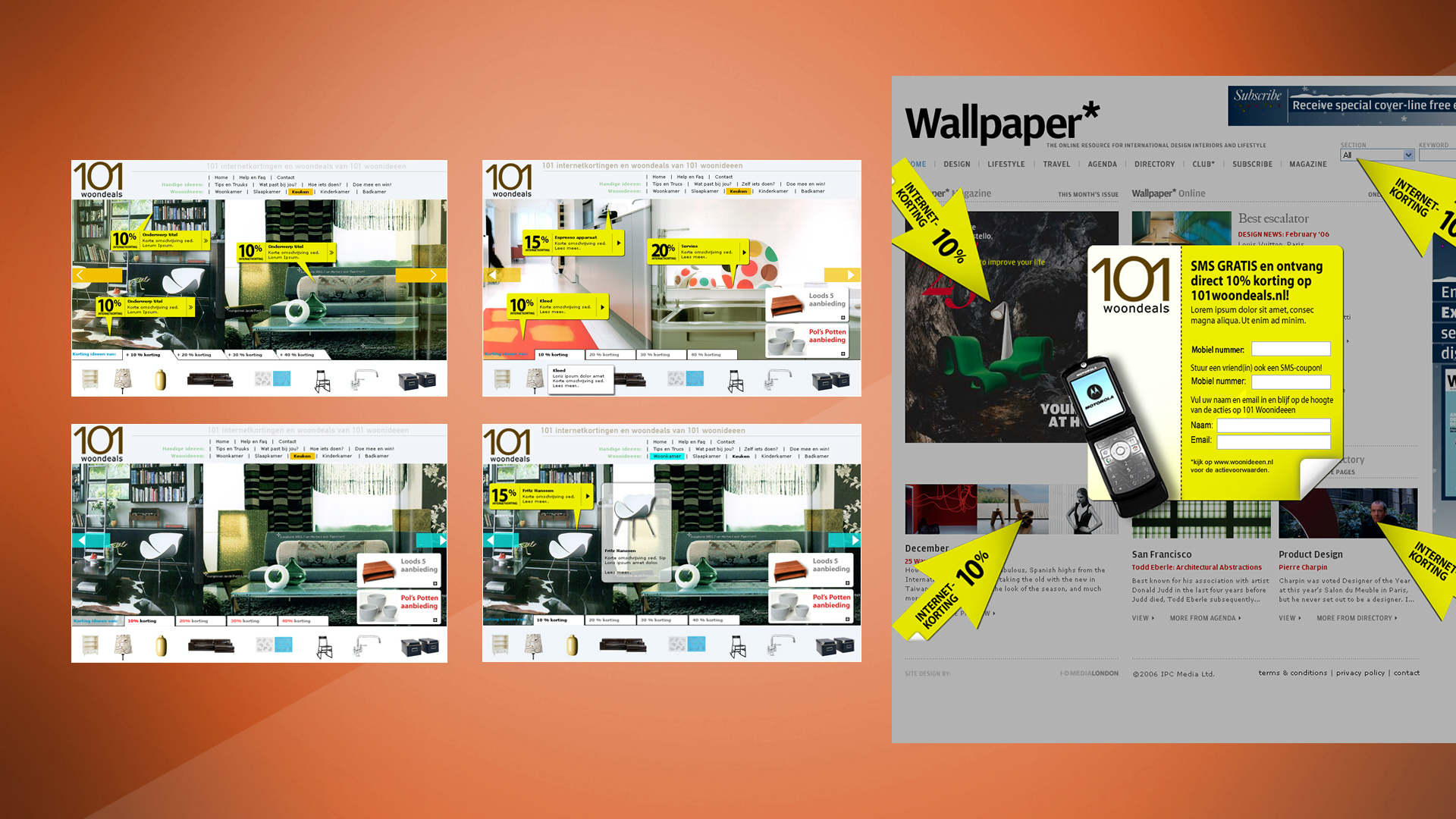 Sanoma. Case. Visuals pitch, concept, art direction, creative consultancy, design. Sham Ramessar