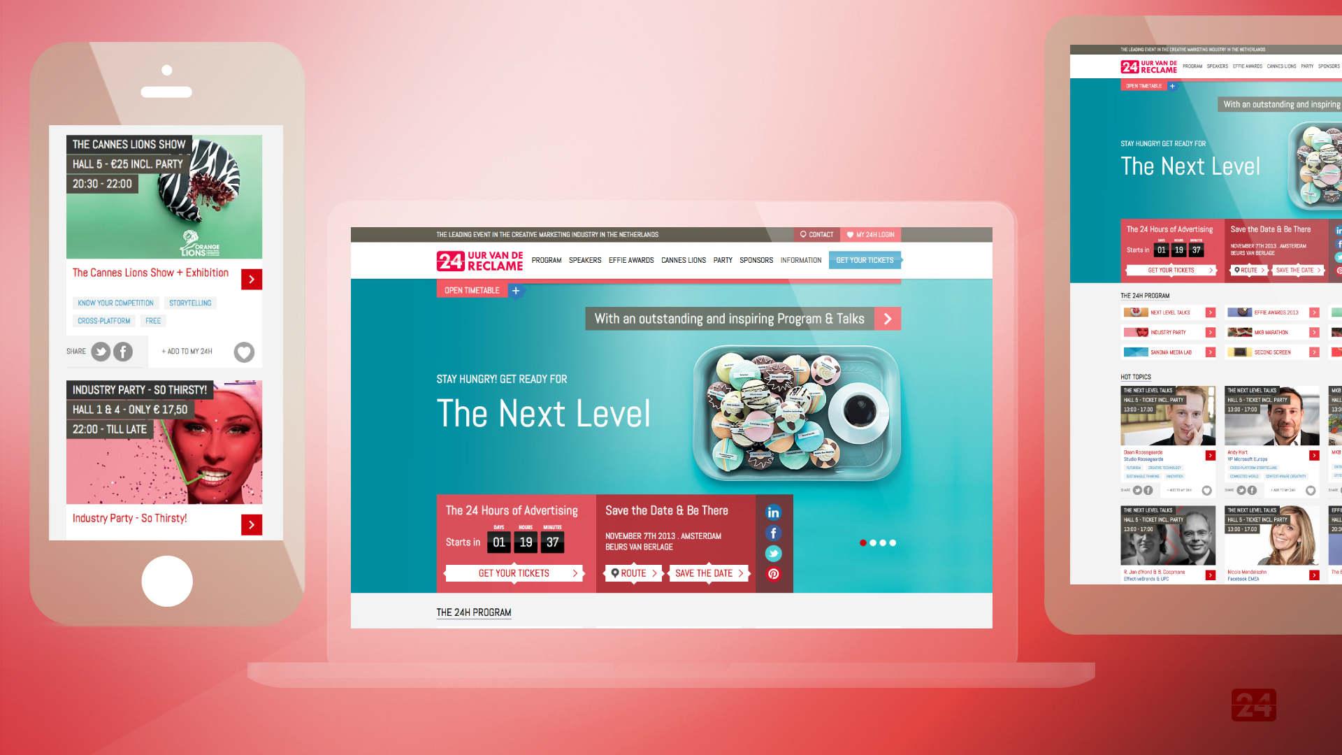 24Festival - Logo, Website, Social Media and Rebranding, Signage, Communication - Sham Ramessar