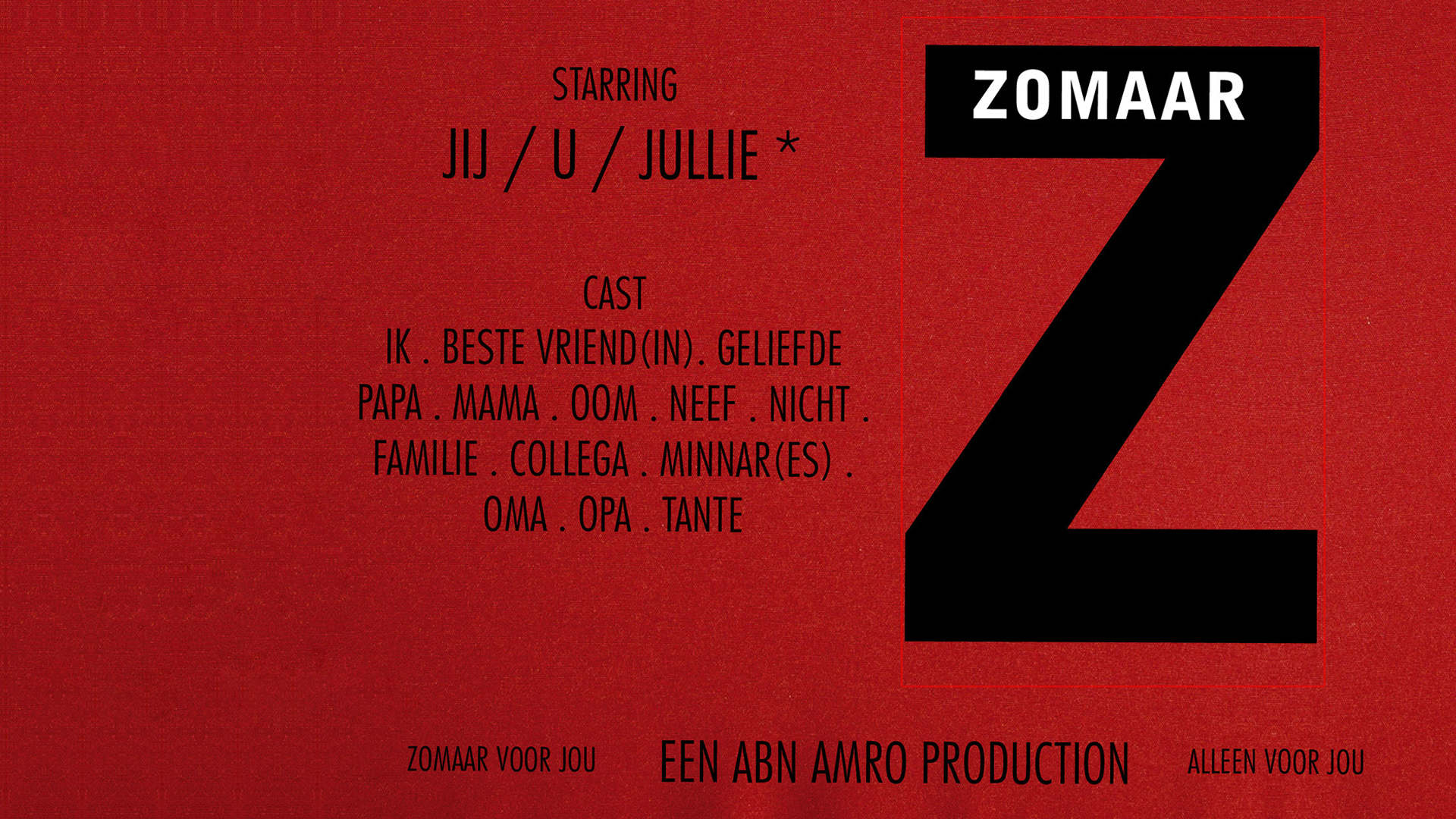 ABN AMRO - Giftcard - Sham Ramessar
