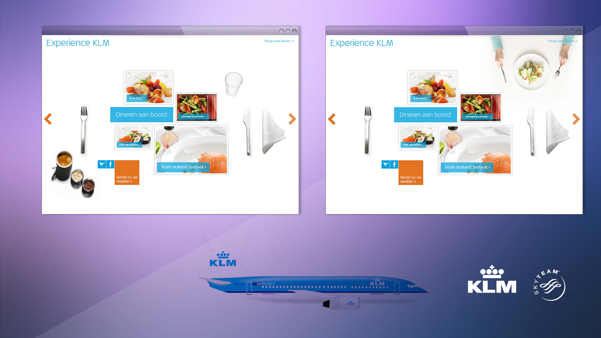 KLM. Royal Dutch Airlines. Case. Visuals concept, art direction, branding & identity, creative consultancy, campagne, design. Sham Ramessar
