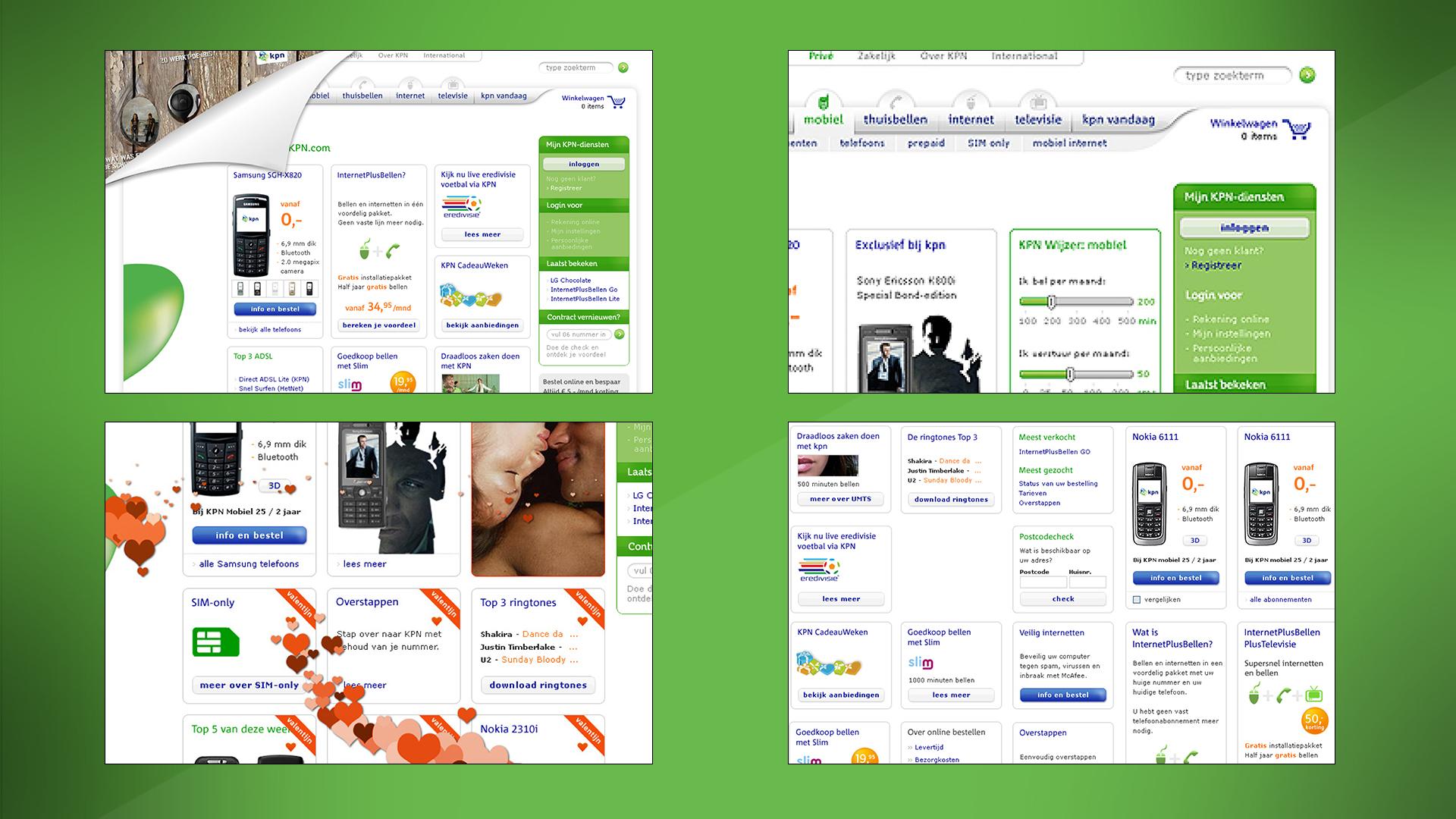 KPN. Case. Visuals herpositionering, redesign, art direction, branding & identity, design, e-commerce. Sham Ramessar