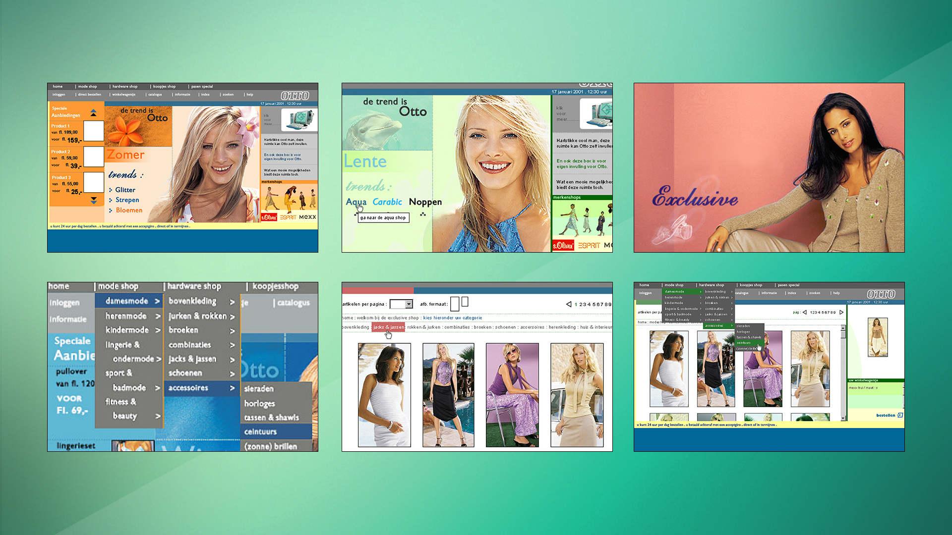 Otto - Webshop Online Rebrand - Sham Ramessar