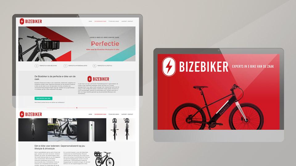Bizebiker - Brand Identity Online Design - Sham Ramessar