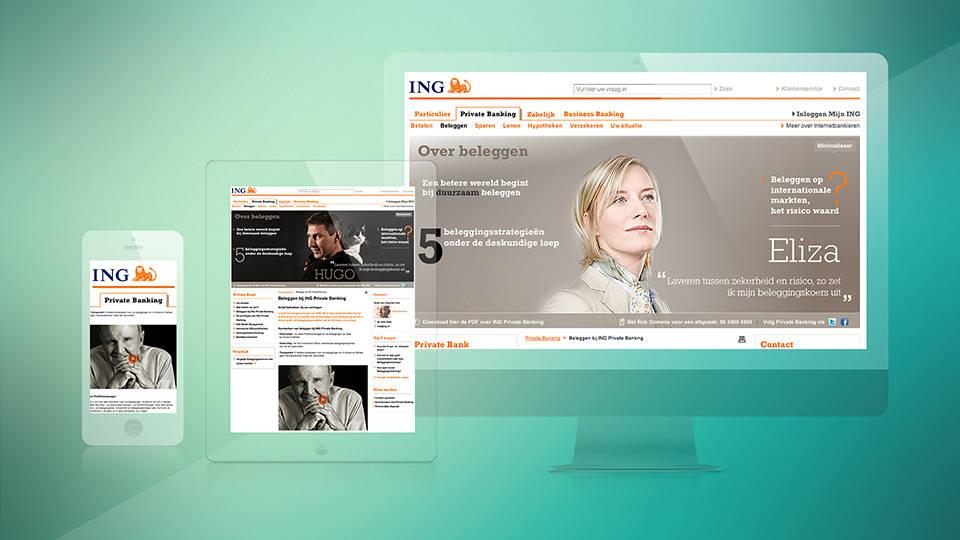 ING - Private Banking Online Design - Sham Ramessar