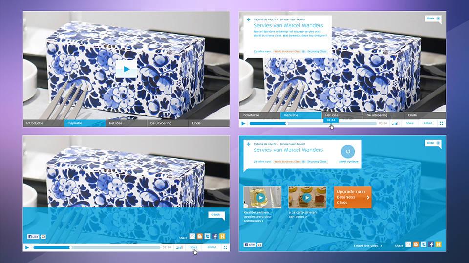 KLM Royal Dutch Airlines - Online Marketing Design Art Direction Concepts - Sham Ramessar