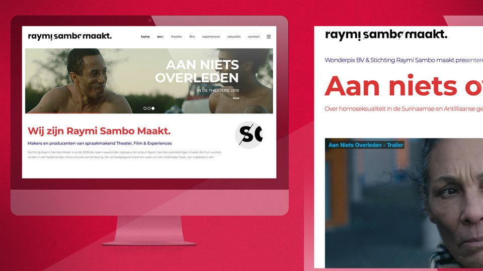 Raymi Sambo Maakt - Logo Brand Identity Online Design - Sham Ramessar