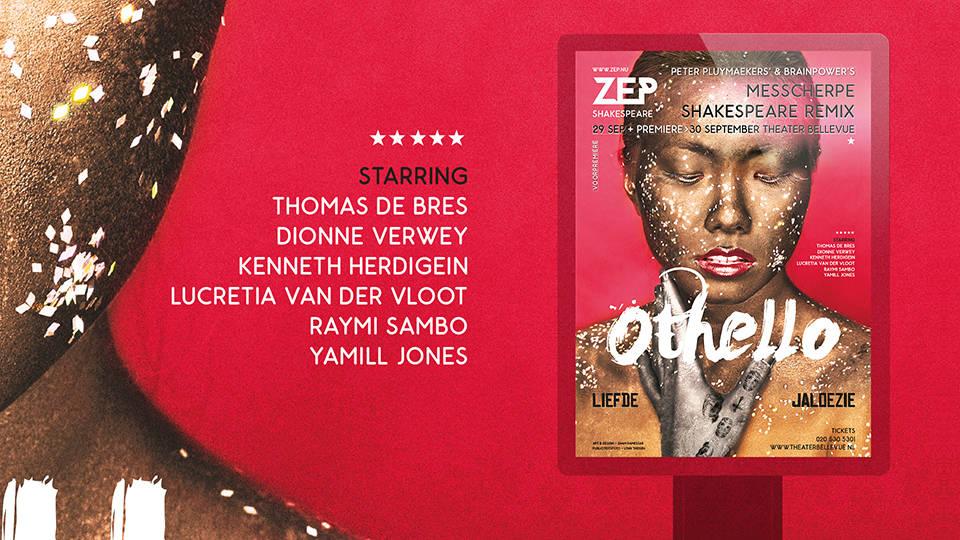 ZEP Theatre Production Rebranding - Sham Ramessar
